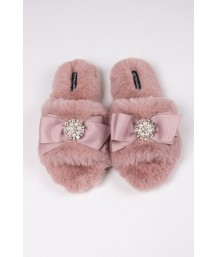 Anya Slipper in Pink - Large