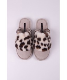 Danni Slipper in Animal - Large