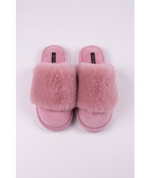 Danni Slipper in Pink - Large