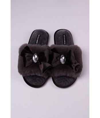 Darcey Slipper in Smoke - Large