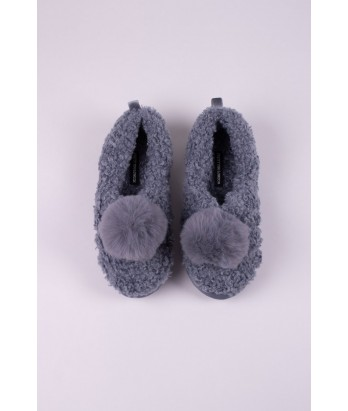 Dora Slipper in Cloud Grey - Medium