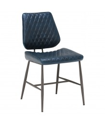 Exe Dining Chairs in Blue (Set of 6)