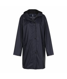 Tif Tiffy - Navy Marina Long Rainjacket (L/XL)