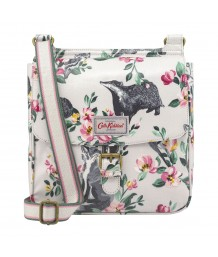 Cath Kidston - BADGERS AND FRIENDS TAB SADDLE BAG