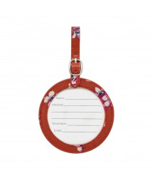 Cath Kidston - GROVE DITSY ROUND LUGGAGE TAG