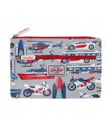 Cath Kidston - THINGS THAT GO FAST KIDS DOUBLE ZIP PENCIL CASE