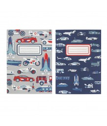 Cath Kidston - THINGS THAT GO FAST KIDS SHAPED STICKY NOTES