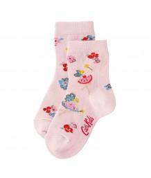 Cath Kidston - Girls Socks Little Fairies Soft Pink 4-7 years