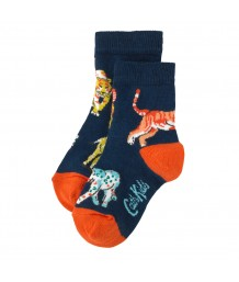 Cath Kidston - Boys Socks Safari Animals 4-7 years