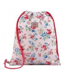 Cath Kidston - Kids Drawstring Reversible Bag Holland Park Flower Soft Pink