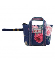 Cath Kidston - Overnight Bag Charm Antique Rose Navy