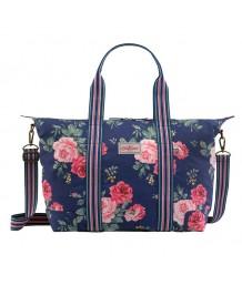 Cath Kidston Antique Rose Foldaway Overnight Bag