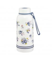 Cath Kidston Glass Water Bottle Kew Sprig Periwinkle
