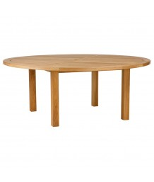 Barlow Tyrie 180cm Diameter Circular Horizon Dining Table