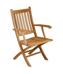 Barlow Tyrie Ascot Teak Dining Carver Chair