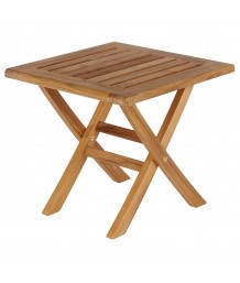 Barlow Tyrie Ascot Teak Footstool/Side Table