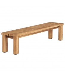 Barlow Tyrie Titan Backless Bench 200cm Rustic Teak