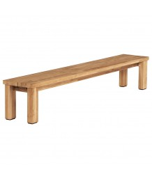 Barlow Tyrie Titan Backless Bench 260cm Rustic Teak