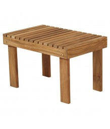 Barlow Tyrie Adirondack Teak Rectangular Side Table