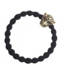 Jaguar Charm on Black Hairband