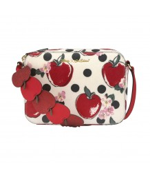 Cath Kidston -  Snow White Cross Body Apples and Spot Stone
