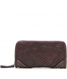 Campomaggi Cowhide Leather Wallet Grey