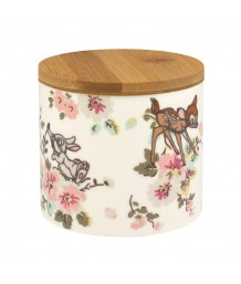 Cath Kidston -  Bambi Rose Storage Pot with Matching Lid