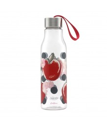 Cath Kidston -  Snow White Apples and Spot Lanyard Water Bottle