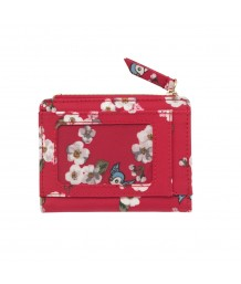 Cath Kidston -  Snow White Little Scattered Blossom Folded Card Purse with Coin Slot