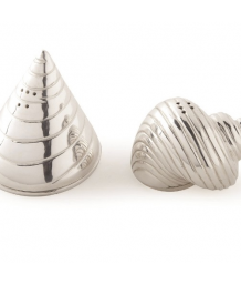 Culinary Concepts Conch & Cone Salt and Pepper Set