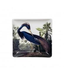 Audubon's Heron Trinket Tray
