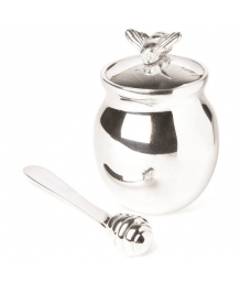 Culinary Concepts Honey Bee Honey Jar With Spreader