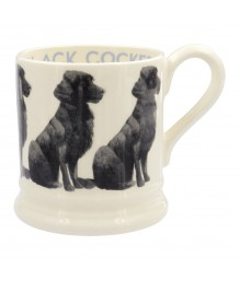 Emma Bridgewater - Black Cocker, 1/2 Pint, Mug