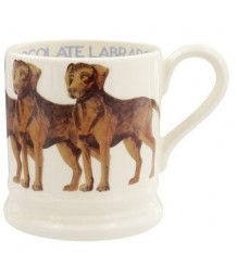 Emma Bridgewater - Chocolate Labrador, 1/2 Pint, Mug