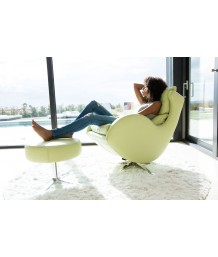 Fama - Leather Lenny Chair