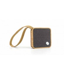 Gingko - Mini Square Pocket Bluetooth Speaker - Bamboo
