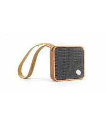 Gingko - Mini Square Pocket Bluetooth Speaker - Cherry