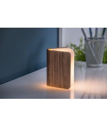 Gingko - Walnut Smart Booklight Mini
