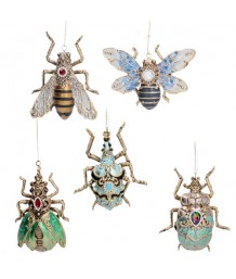 Gisela Graham - Jewelled Resin Insects, 5 assorted designs