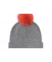 Helen Moore -  Pure Cashmere Pom Pom Beanie in Various Colours