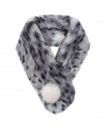 Helen Moore - Pom Button Scarf in a choice of colours