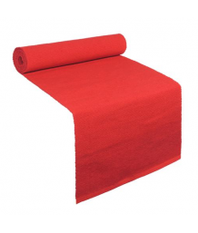 Helen Moore Revival Table Runner Red