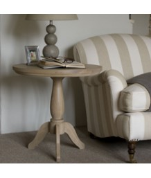Neptune Henley 60cm Oak Pedestal Side Table