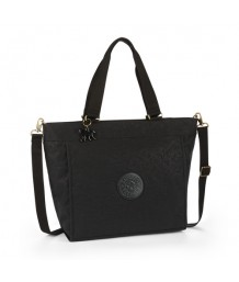 Kipling New Shopper L Black Leaf