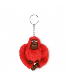 Kipling Monkey Clip Small Red