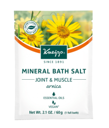 Kneipp - Arnica Mineral Bath Salts 60g Sachet