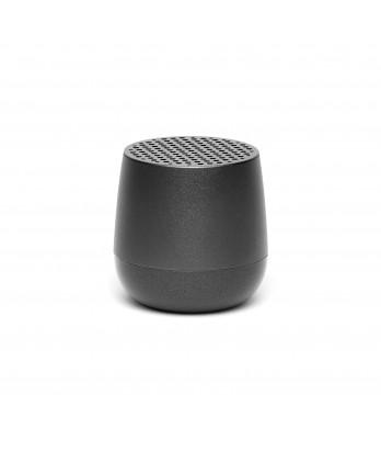 Lexon - Mino Rechargeable Gun Metal Bluetooth Speaker