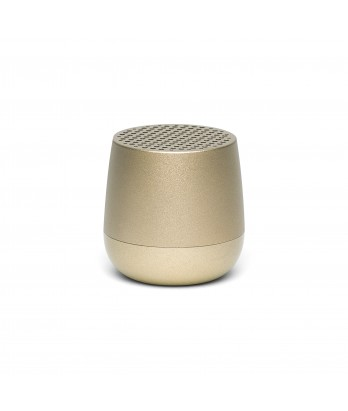 Lexon - Mino Rechargeable Light Gold Bluetooth Speaker