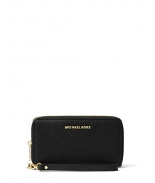 Michael Kors Mercer Large Leather Smartphone Wristlet