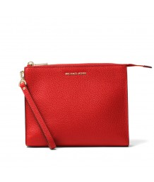 Michael Michael Kors - Large Box Travel Pouch, Bright Red